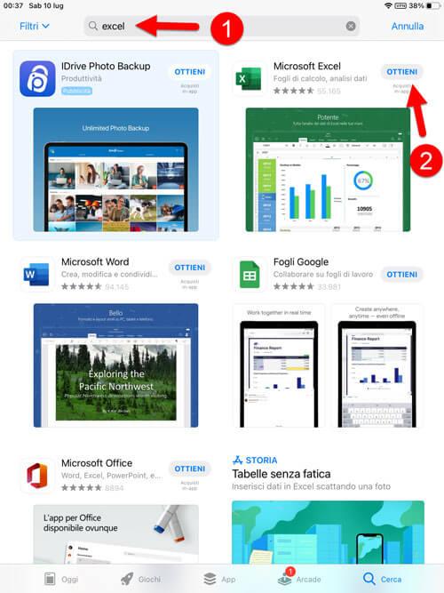 Scaricare Office Excel Per Iphone Ipad