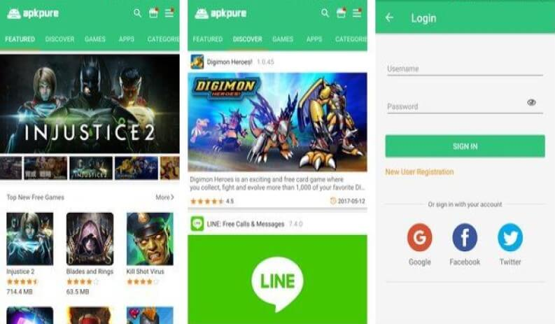 app store android apk pure