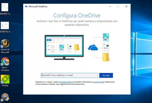 Backup online: OneDrive