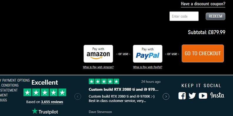 Amazon Pay pagamento