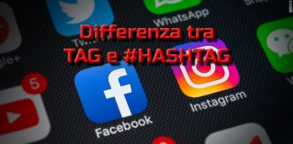 differenza tra hashtag e tag