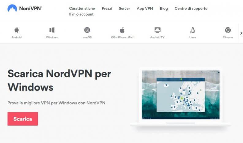 Client NordVPN