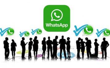 Inviare un messaggio a più persone su WhatsApp