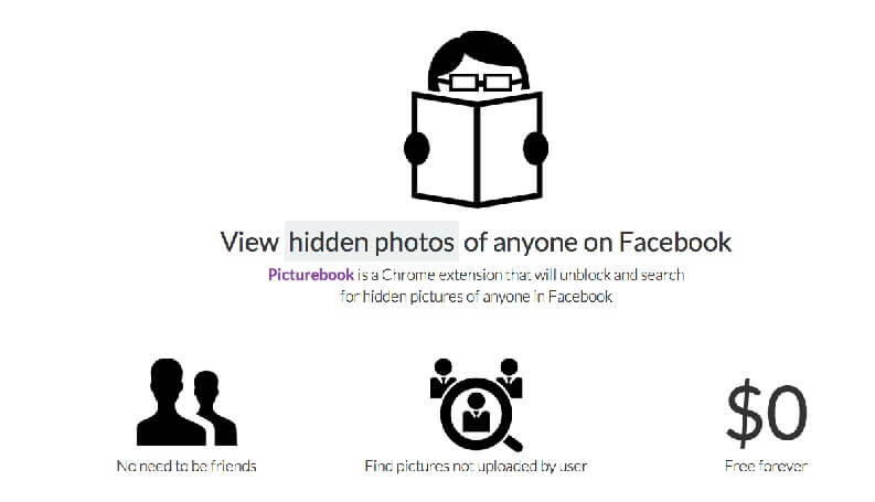 Vedere foto private Facebook: Photobook