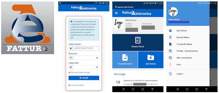 app fattura-elettronica agenzia delle entrate
