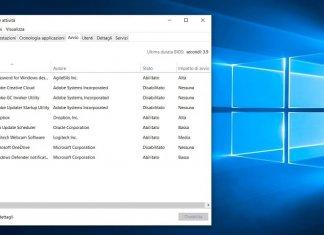 Come disattivare o modificare i programmi all'avvio di Windows