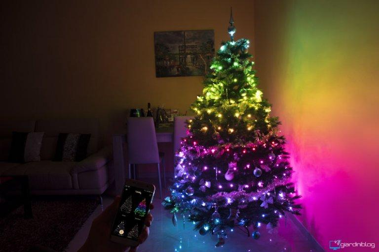 Twinkly Smart Decoration, luci led per un Albero di Natale Smart