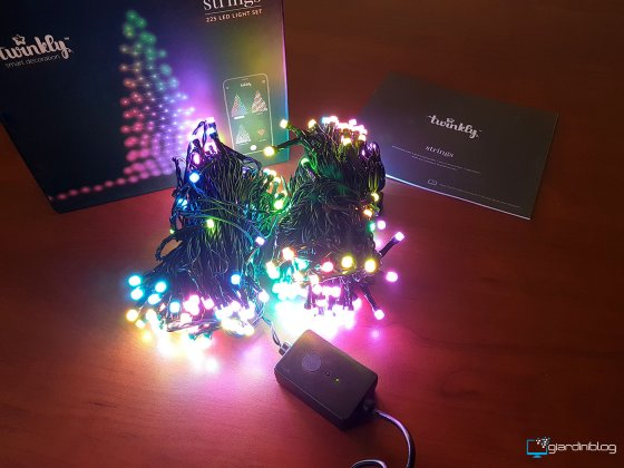 unboxing twinkly smart decoration