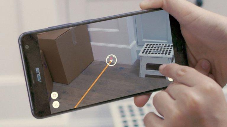 Misura la distanza con la fotocamera del telefono Android