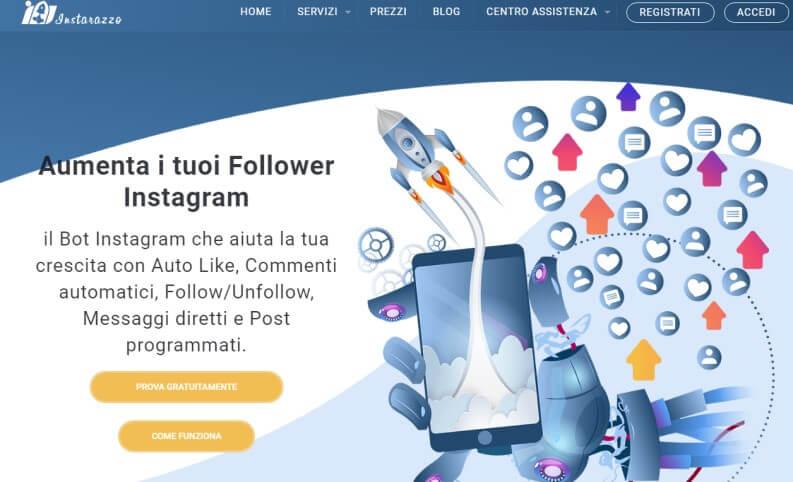 instarazzo: home page