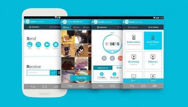 condividere file e foto tra due cellulari tramite WiFi Direct