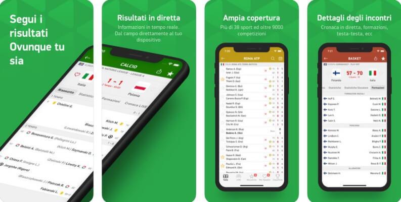 Risultati Partite: Diretta app