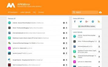 APKMirror: scaricare le app Android in sicurezza in formato apk
