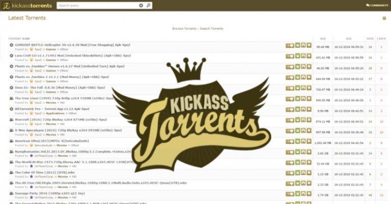 KickAss Torrents (KAT): come accedere, come funziona e alternative