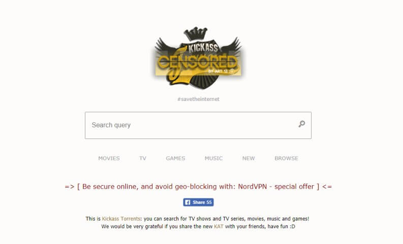 KickAss Torrents: Home