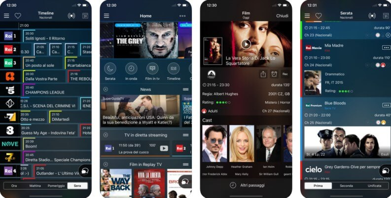 super guida tv app per programmi tv