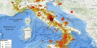 terremoti oggi