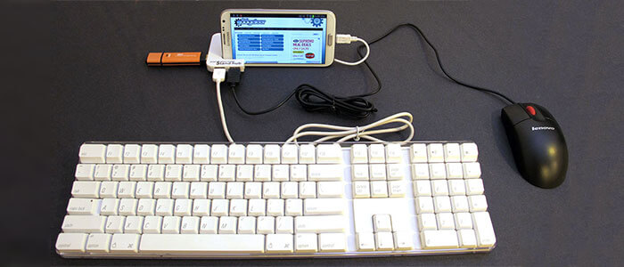 otg mouse e tastiera