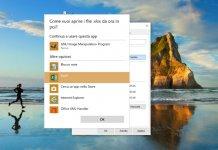 Programma Predefinito Windows 10