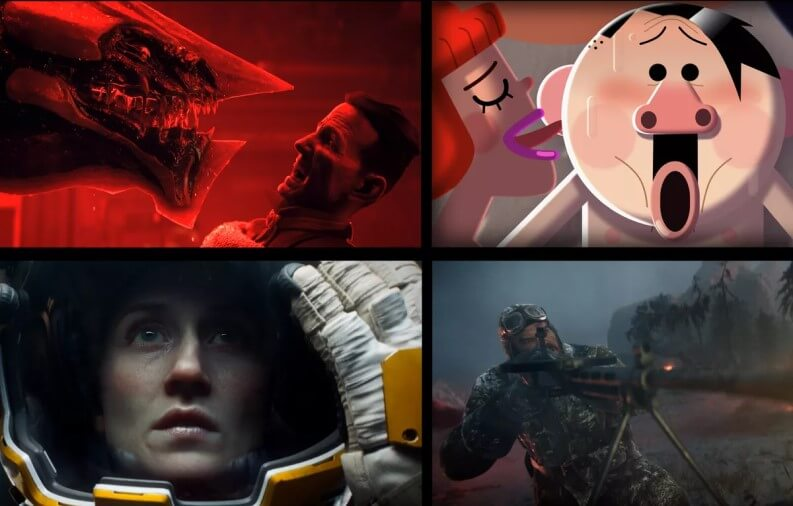 Serie Netflix di successo in italia: Love Death and Robots