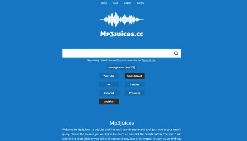 Musica gratis da scaricare: mp3 juices
