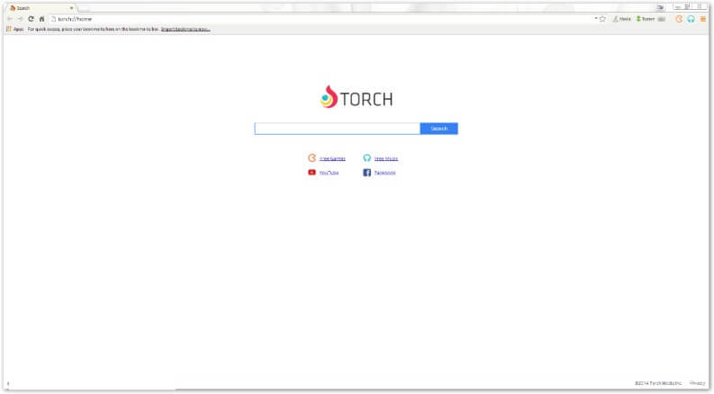 Browser leggero: torch browser