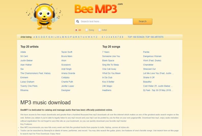 Musica da scaricare gratis