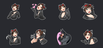 catwoman sticker