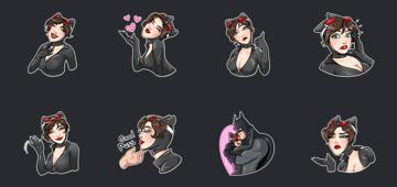 catwoman sticker