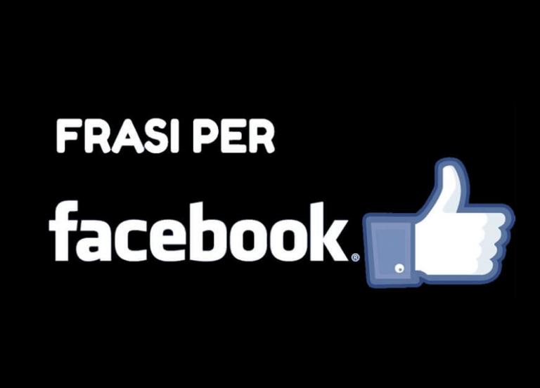 Le migliori frasi per Facebook da pubblicare per avere Like