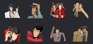 lupin sticker