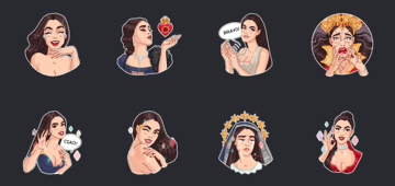monica bellucci sticker