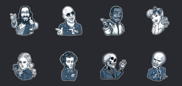 sticker-personaggi-famosi-telegram