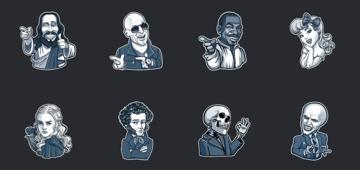 sticker-personaggi-famosi-telegram