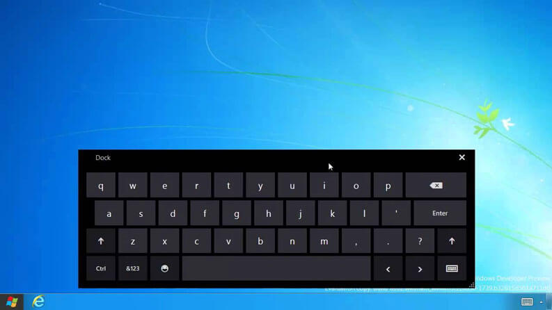 virtual keyboard computer