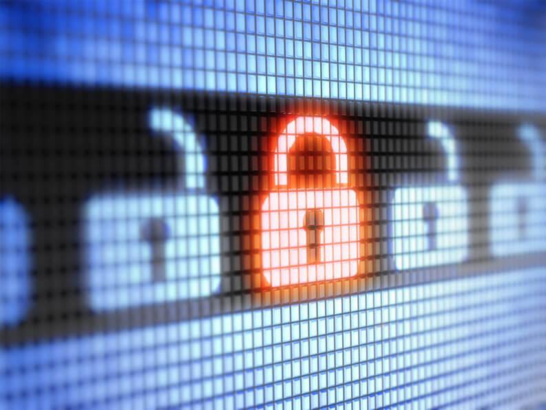 Come proteggere i tuoi account sui social media: password complessa