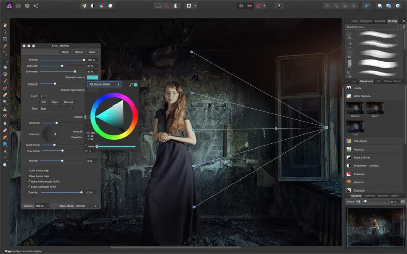 Fotoritocco programmi: affinity photo