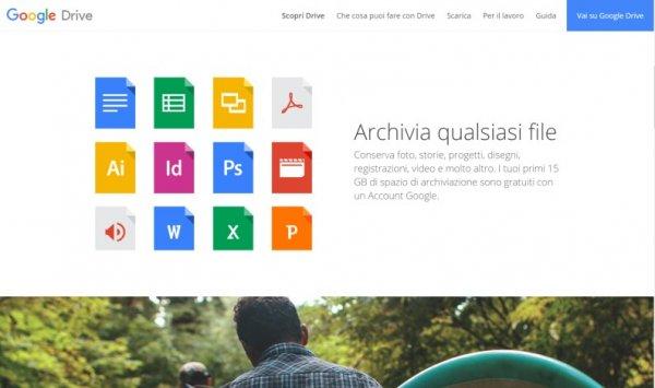 Cloud gratuiti: Google Drive