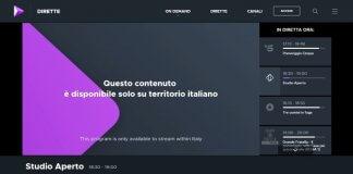 canali tv italiani dall'estero con le VPN
