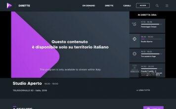 VPN per vedere canali tv italiani in streaming dall'estero