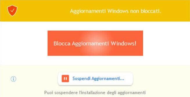 StopUpdates10 per bloccare aggiornamenti