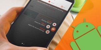 registrare schermo android