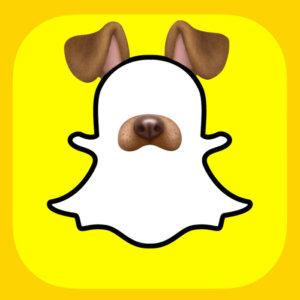 Snapchat effetti: puppy filter
