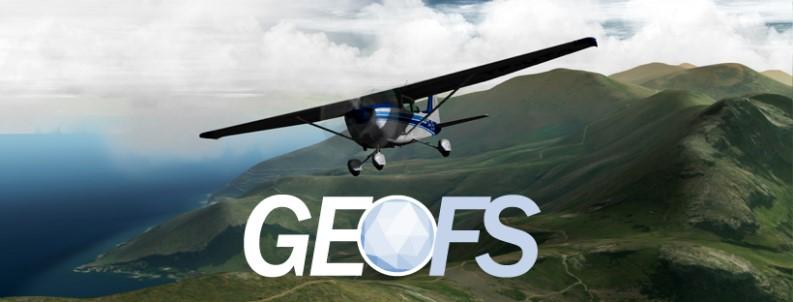 Simulatore di volo aereo: GeoFS