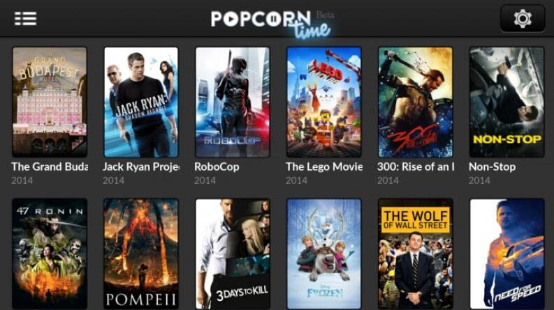 App per serie TV: popcorn Time