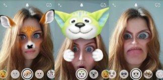 Snapchat effetti