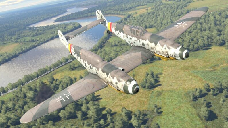 simulatore di volo aereo: war thunder