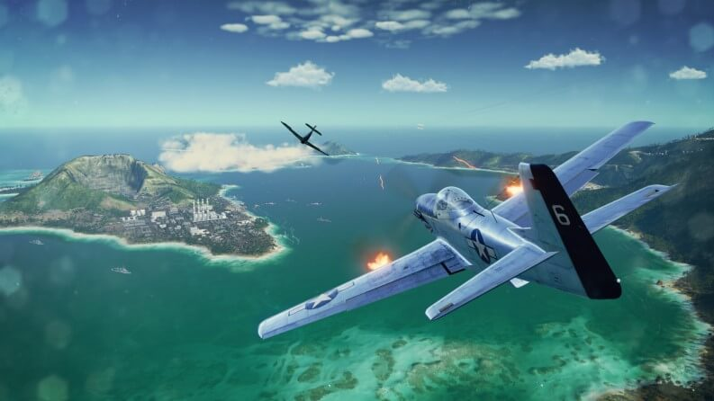 Simulatore di aerei di volo: World of Warplanes