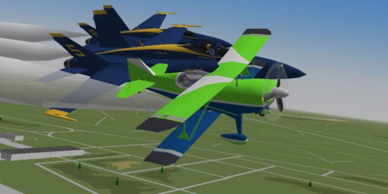Simulatore di volo aereo: YSflight