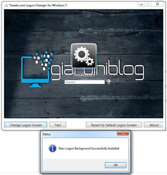 cambiare schermata accesso blocco windows